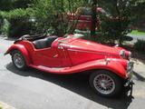 1954 MG TF Red John V