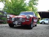 1964 MG Midget MkI Tartan Red kurt larson