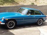 1971 MG MGB GT Blue Tim Frederick