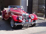 1954 MG TF Red jeff H