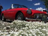 1969 MG MGB Ford Hot Red LaVerne Downey