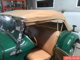1950 MG TD Green jacques roy