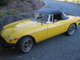 1980 MG MGB Yellow John S