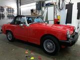 1978 MG Midget MkIV Red john tiley
