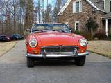 1977 MG MGB Orange Red Thomas Diehl