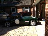 1958 MG MGA 1500 Coupe Green Ted Joseph