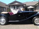 1950 MG TD Black With Red Leather Brian Smith