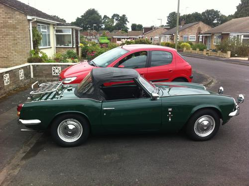 1969 triumph spitfire mkiii (fd38388) : registry : the mg experience