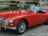 1960 MG MGA 1600 Chariot Red Keith Evans