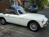 1965 MG MGB White Liz Rekevics