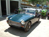 1969 MG Midget MkIII Blue Mike Lees