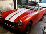 1975 MG Midget 1500 Red Mike C