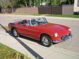 1974 MG MGB Red Paul