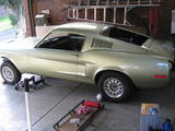 1968 Ford Mustang Lime Gold John Anderson