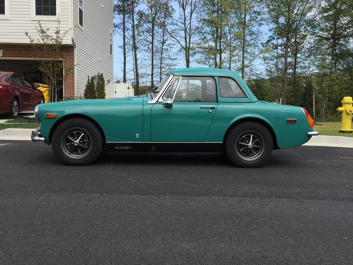 Pity, that 1972 mg midget part for