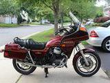 1983 Honda MC GL650I Wineberry Red Phil Arty Williams