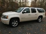 2013 Chevrolet Suburban Pearl White Phil Arty Williams