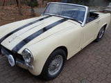 1965 MG Midget MkII Old English White Paul Langdon