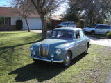 1958 MG Magnette ZB Steel Blue James Schulte