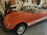 1975 MG MGB Orange Dominic ROBERTAZZI