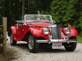 1954 MG TF Red RT G