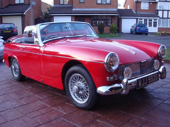 The expert, mg midget vin numbers
