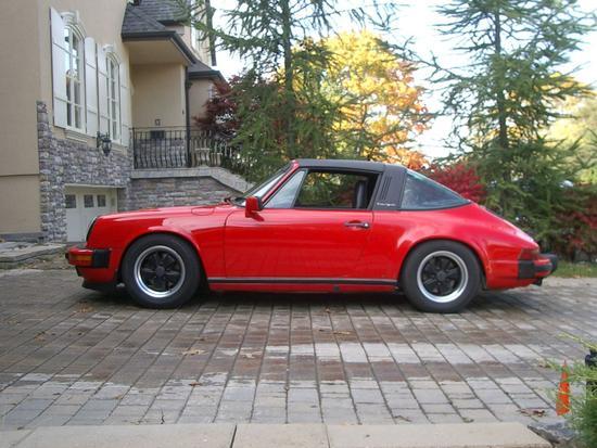 1986 Porsche 911 Carrera Targa Wp0eb0916gs161110