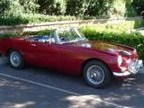 1966 MG MGB Hermitage Burgundy Chris W
