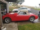 1957 MG MGA Red Mike Nelson