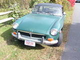 1974 MG MGB Hunter Green Bill Schultz