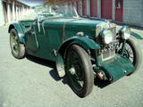 1933 MG J Type Midget Green Robert Gagnon