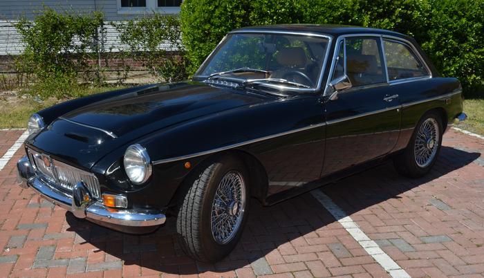 1969 MG MGC GT (GC01U5622G) : Registry : The MG Experience