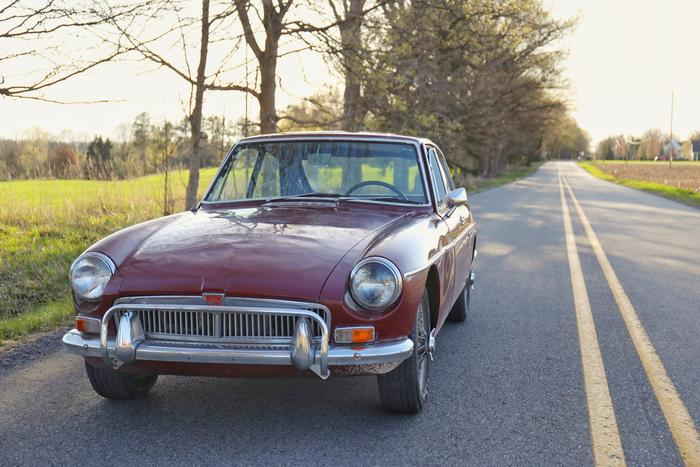 1967 MG MGB GT (GHD3L113964) : Registry : The MG Experience