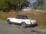 1976 MG MGB Layland White Bobby Russo