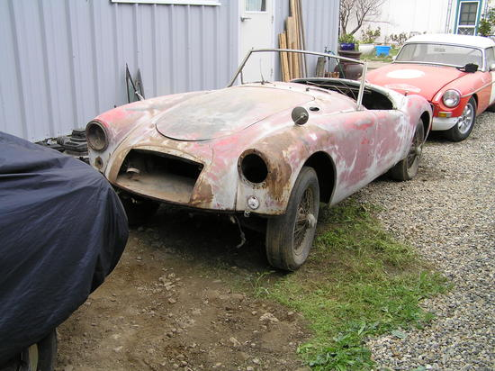 1957 MG MGA (HDT4338917) : Registry : The MG Experience