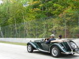 1954 MG TF Dark BRG biscuit LaVerne Downey