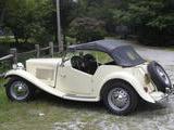 1952 MG TD Cream John Gunther