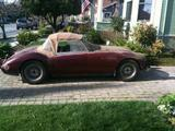 1959 MG MGA PIEBALD MAROON AND BONDO Tony Leyva
