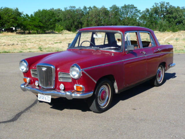 1971 Wolseley 16 60 Itsawolseley Registry The Mg