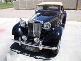 1952 MG TD Black biscuit LaVerne Downey