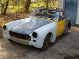 1969 Austin Healey Sprite Yellow primer Richard Eisele