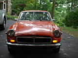1974 MG MGB GT Orange Greg Dufel