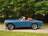 1973 MG Midget MkIII Teal Blue Jared Wayne