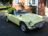1969 MG MGC Pale Primrose Drew Hastings