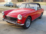 1970 MG Midget Red Morris Humphreys