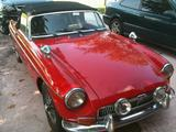 1969 MG MGB Red Adam Lenz