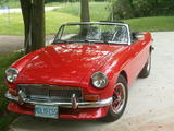 1974 MG MGB Red Jamie Wright