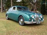 1963 Jaguar 2 1 2L Saloon Green Matthew Gardiner