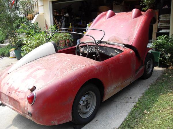 1959 Austin Healey Bugeye Sprite An5l18753 Registry