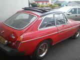 1976 MG MGB GT Red richard Halliday
